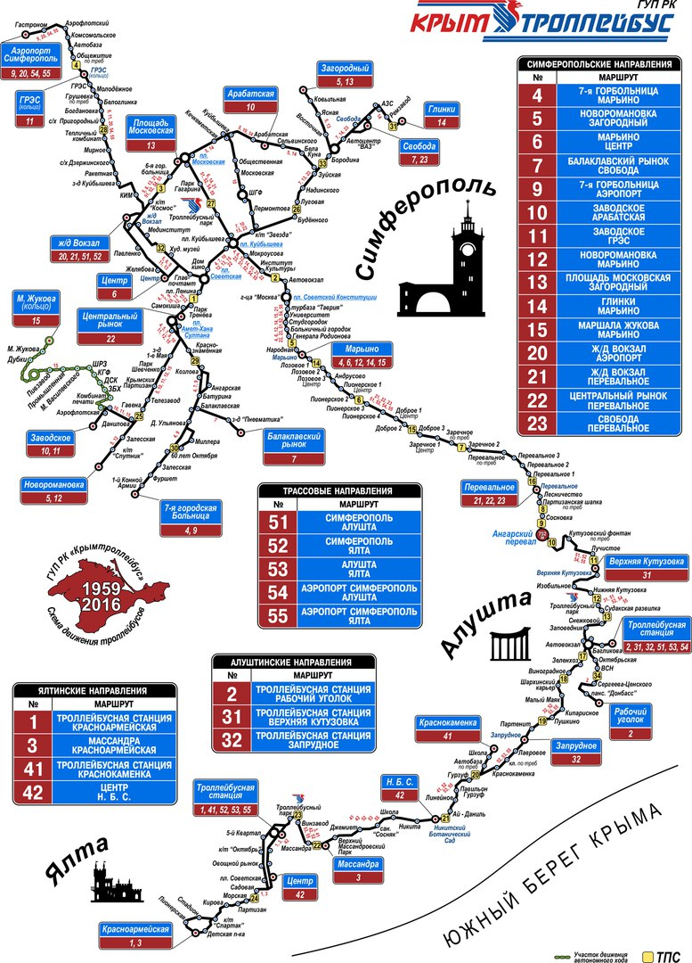 Карта ялты с достопримечательностями на русском языке, карта метро.