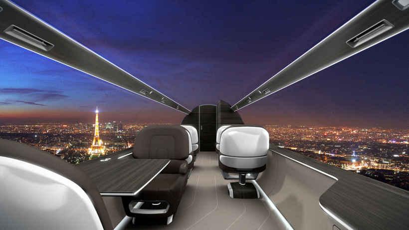 Лучший вид из окна самолета: Альтернатива от французских авиаконструкторов