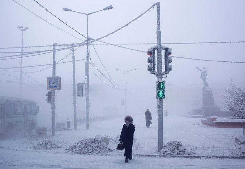 22 фотографии путешествия в Оймякон — самую холодную деревню на Земле