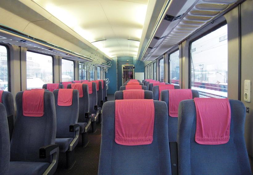 Ниже вы увидите фото поезда с
