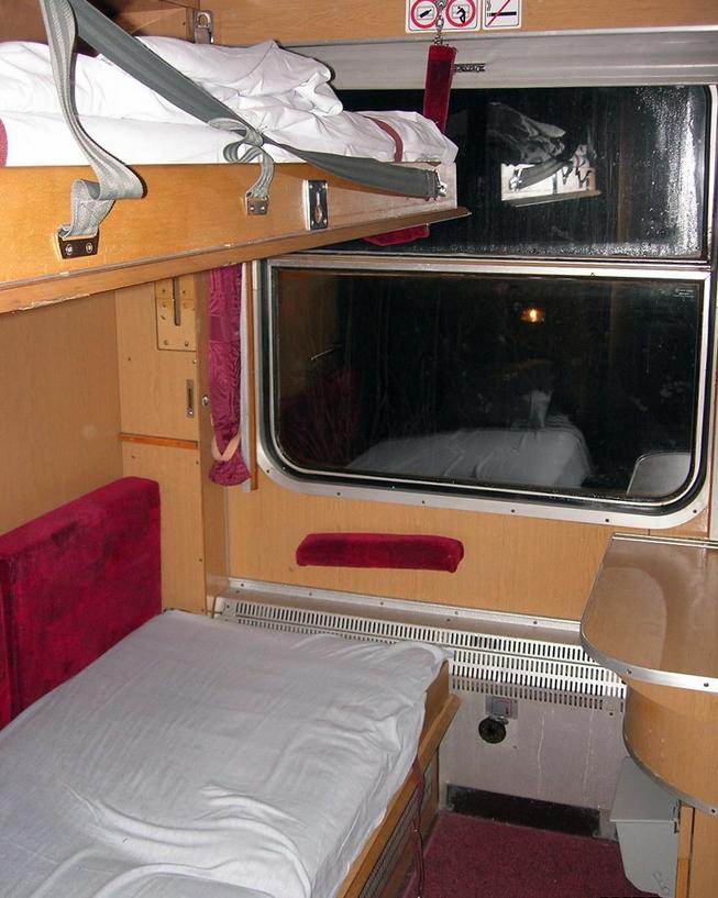 Фото спального вагона