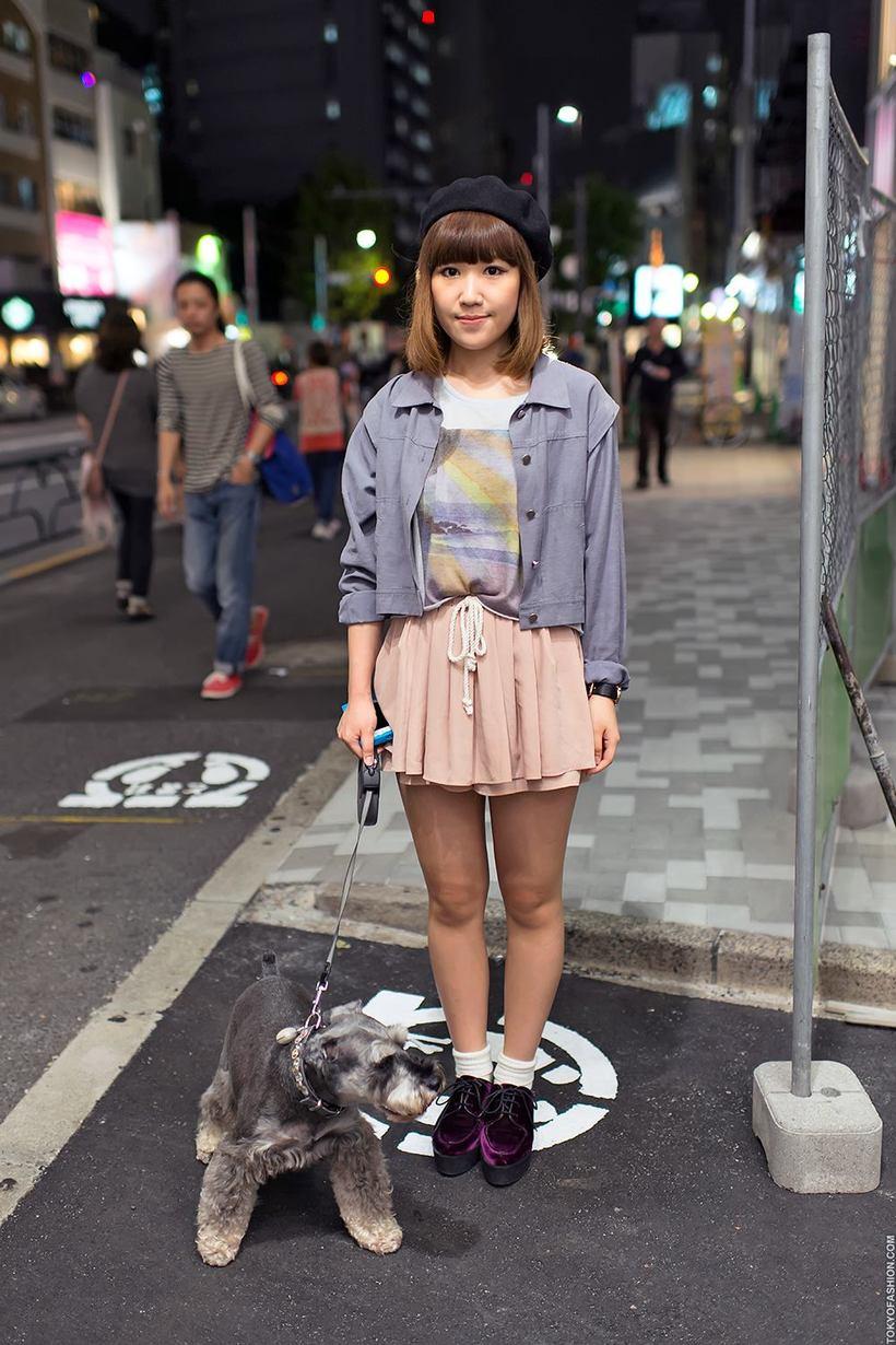 Японки на улице раздетые 13 фотография