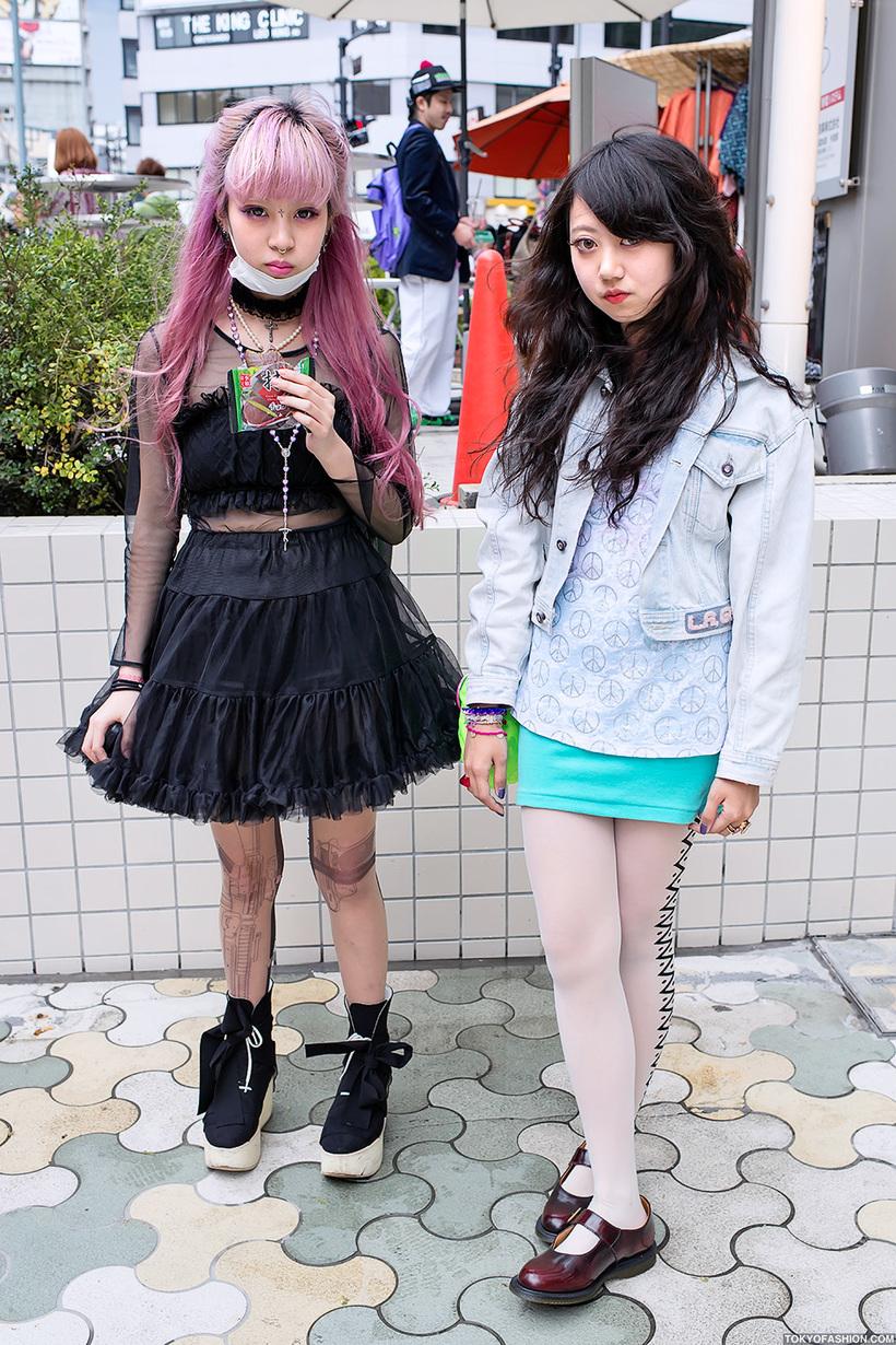 Невероятная мода на улицах Японии