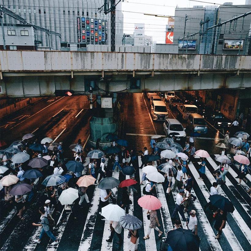 Японский фотограф показал всему миру, как живут японцы каждый день