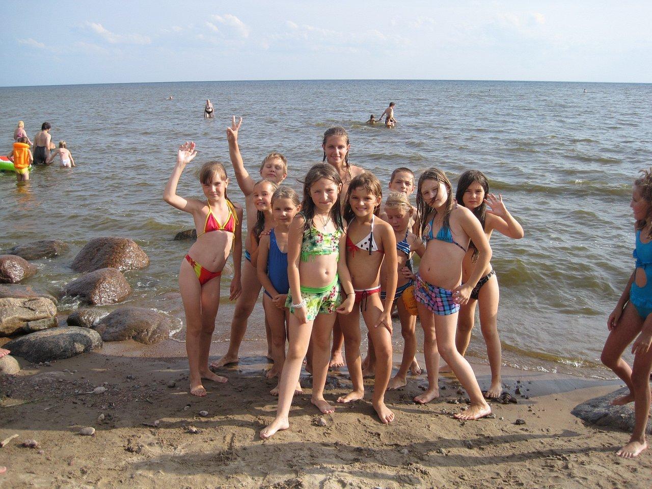 Все фото с детьми с нудиских пляжей