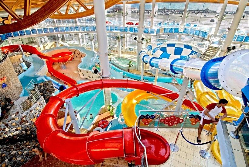 Почему не работает аквапарк на кораблестроителей