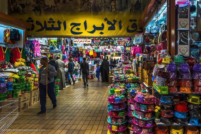 14 Путешественник показал, как и чем торгуют на рынке в Кувейте