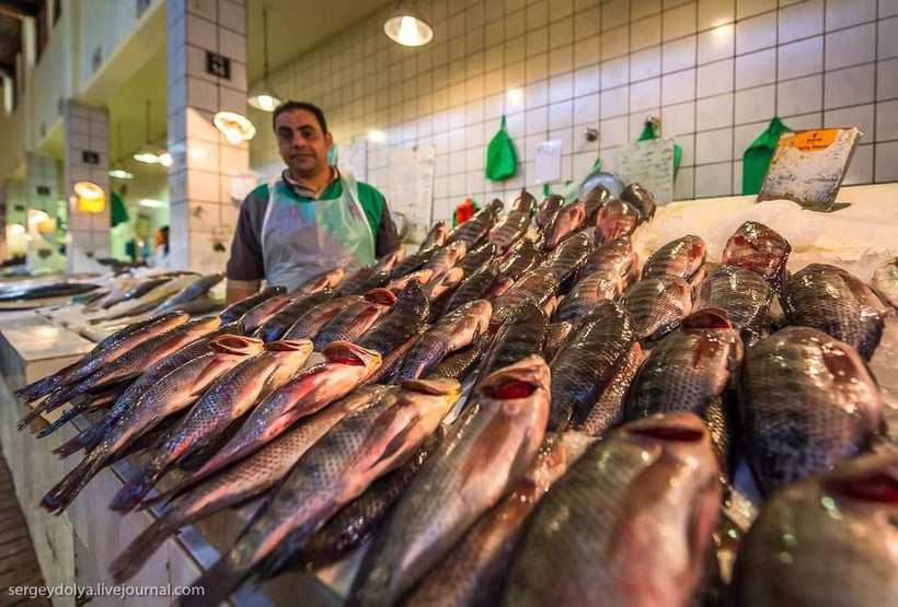 23 Путешественник показал, как и чем торгуют на рынке в Кувейте