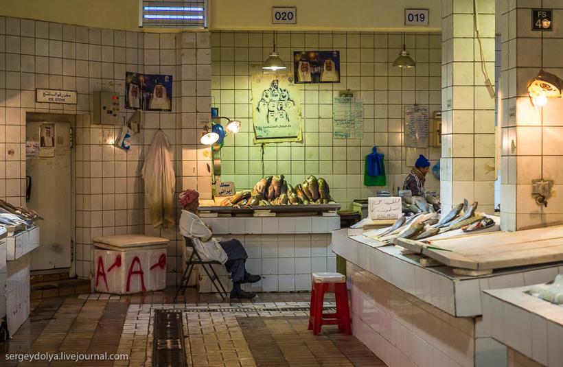 30 Путешественник показал, как и чем торгуют на рынке в Кувейте