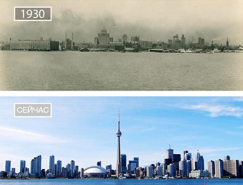 15 фото «до и после», демонстрирующих, как время изменило самые знаменитые города