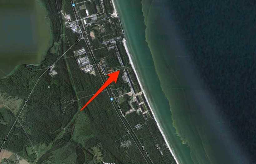 4-километровый заброшенный нацистский курорт Гитлера превращается в роскошное место для отдыха