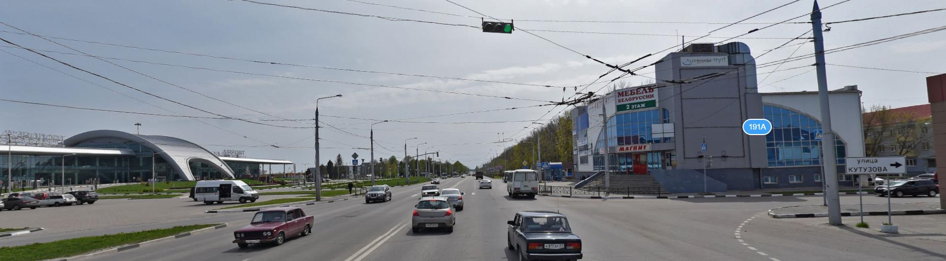 схема проезда к аэропорту города белгорода