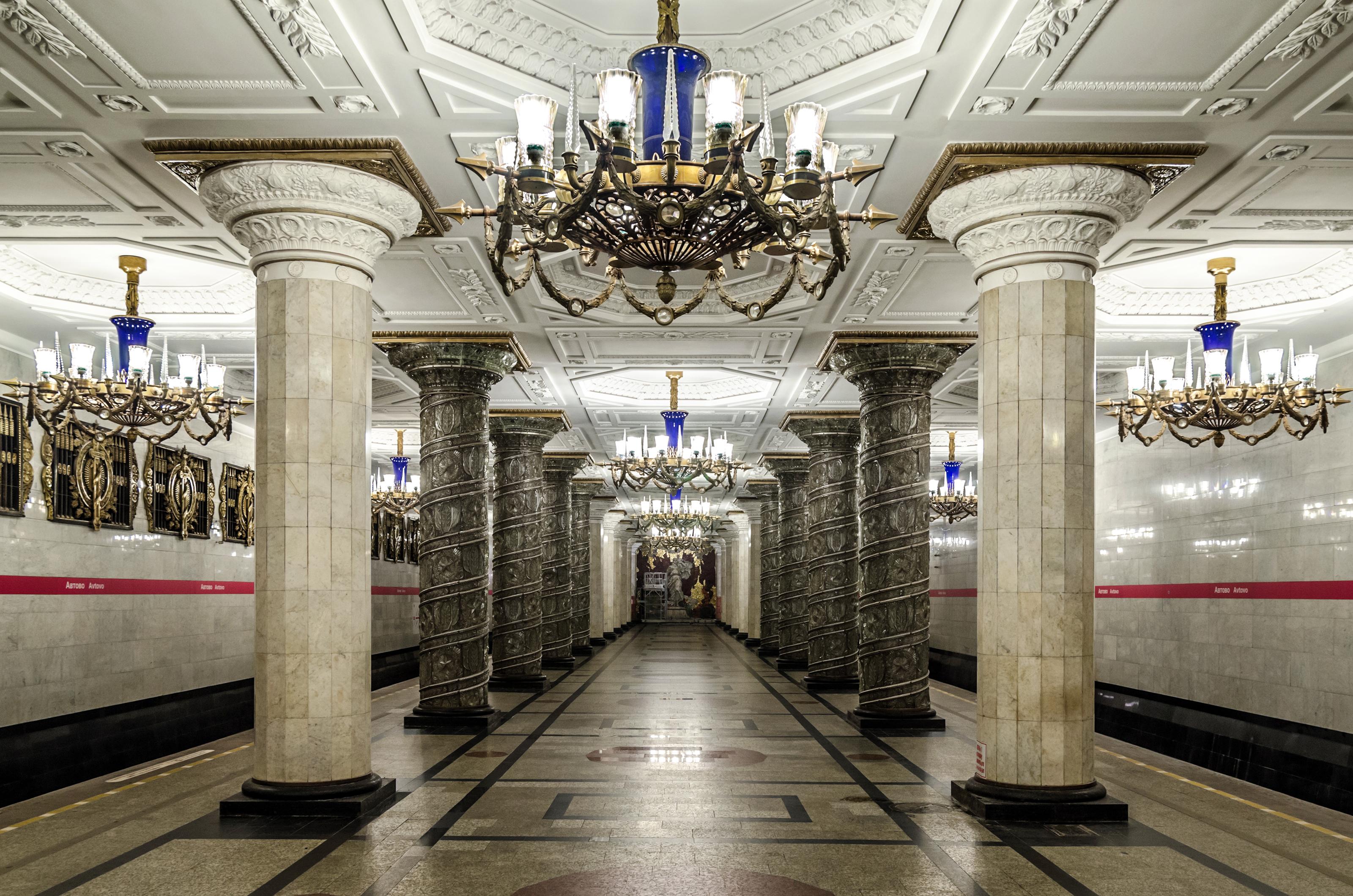 схема линий метро спб 2013