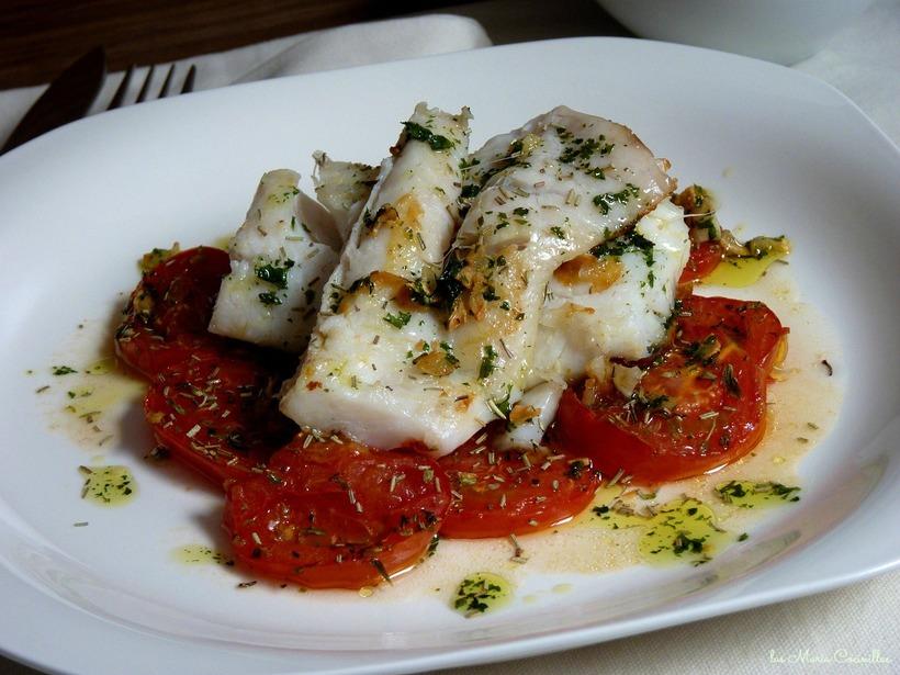Приготовленное рыбное блюдо имеет вкус