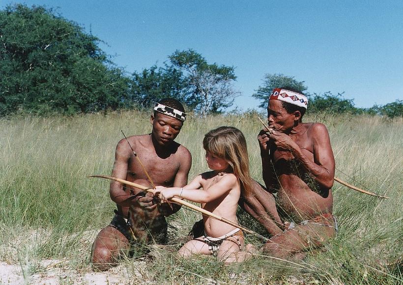 Секс дикие племени африка