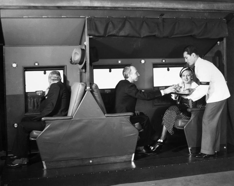 17 ошеломительных старых фото про перелеты в 30-70-е годы прошлого века