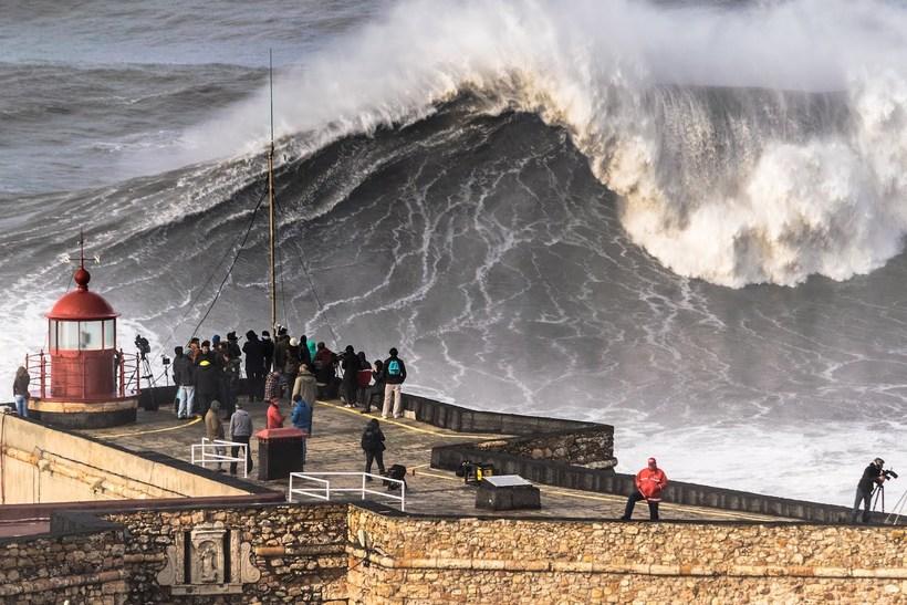 Самые высокие волны в мире, и где можно посмотреть на чудовищных гигантов