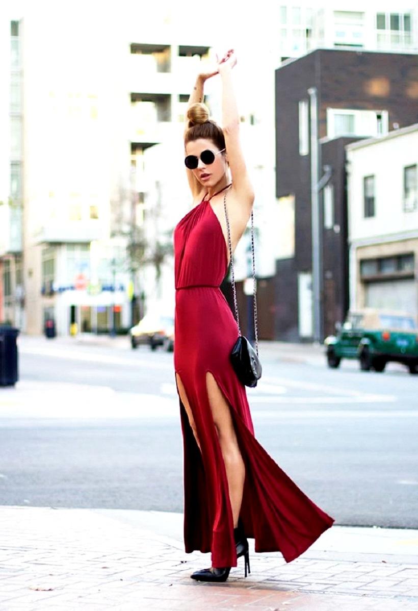 Как вести себя в коротком платье