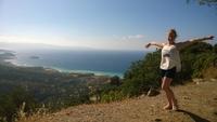 Вид на Средиземное море