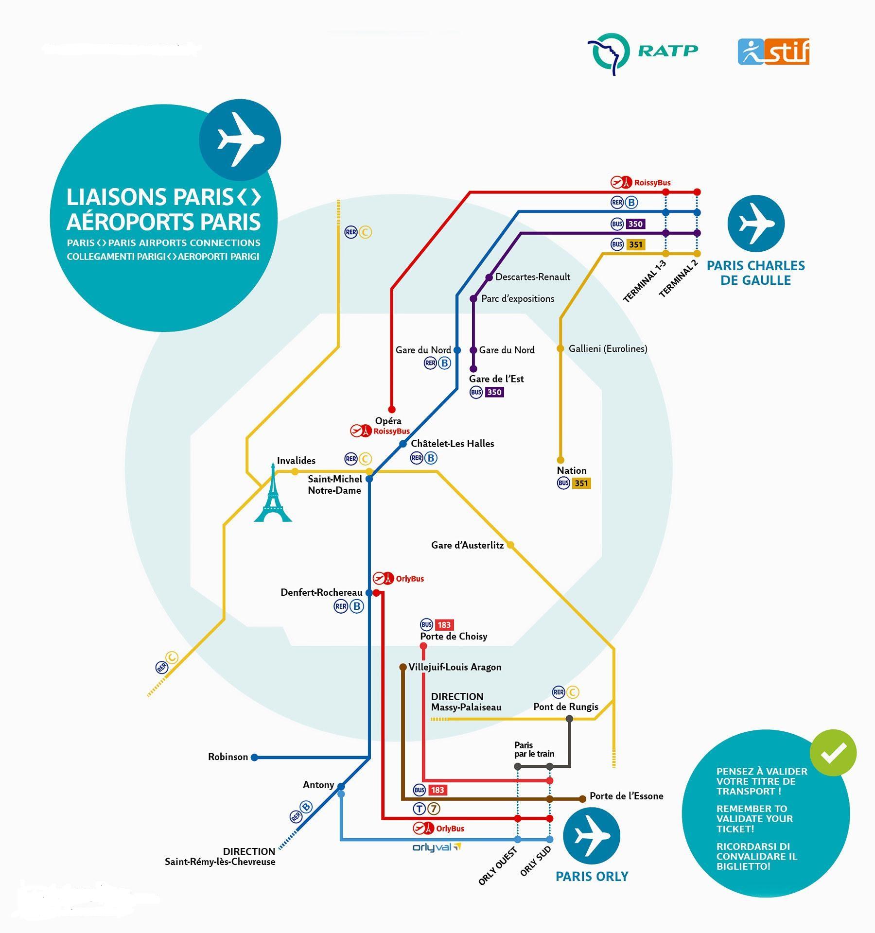 схема метро парижа с достопримечательностями на русском языке