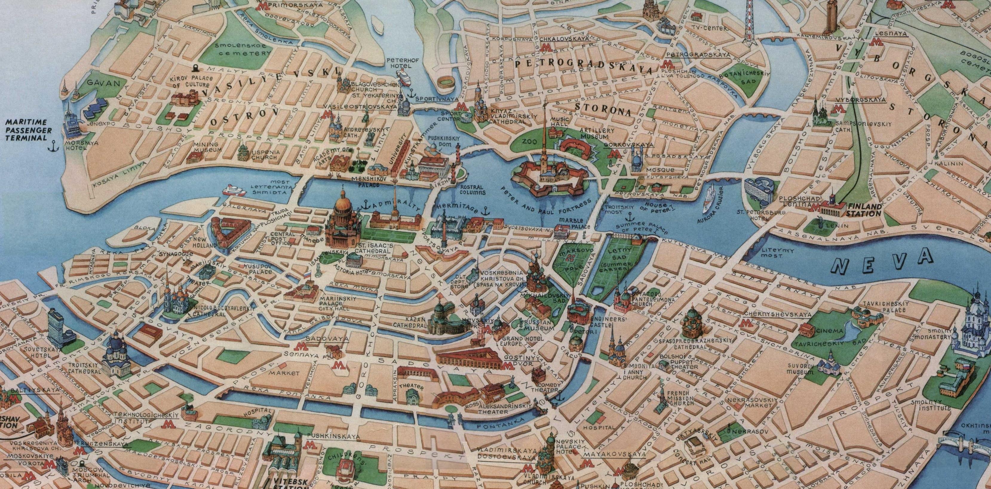 Карта метро санкт-петербурга скачать на андроид