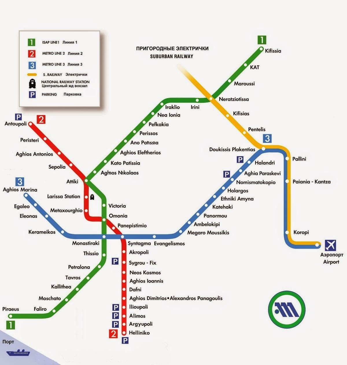 Karta Afin S Dostoprimechatelnostyami Na Russkom Yazyke Karta Metro