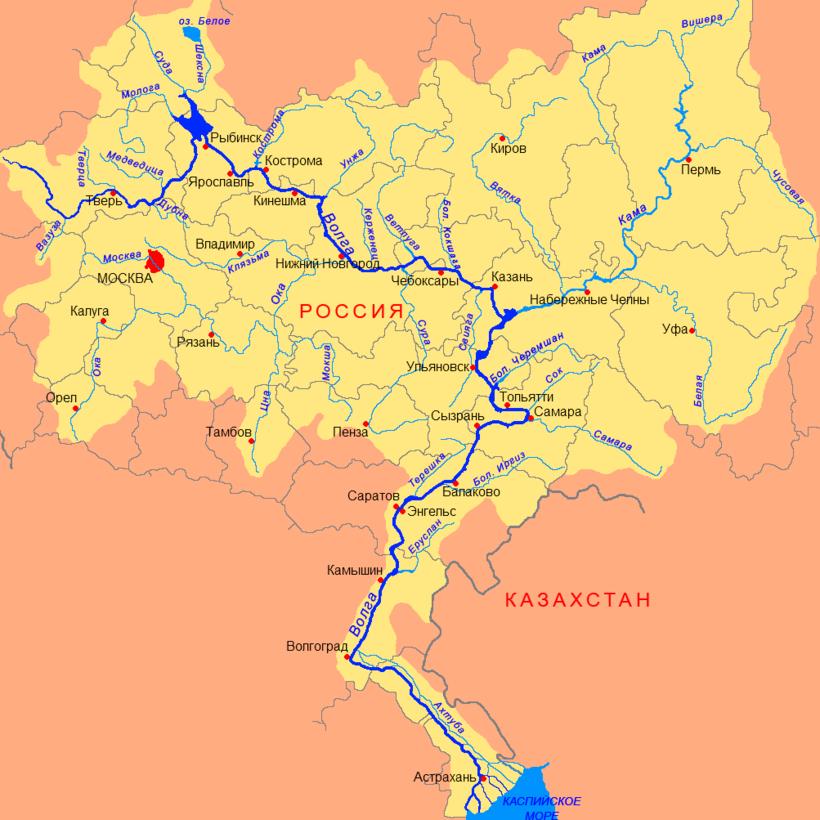 Нереальные масштабы: самая широкая река в России