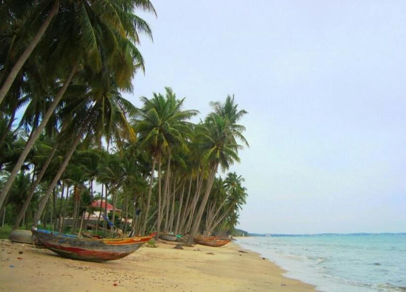 Пляж в Фантхиет в ноябре