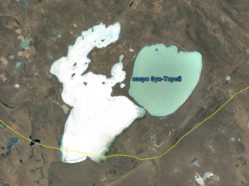 Торейские озера, 2000 год, полноводный период