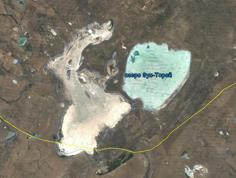 Торейские озера, 2012 год, засушливый период