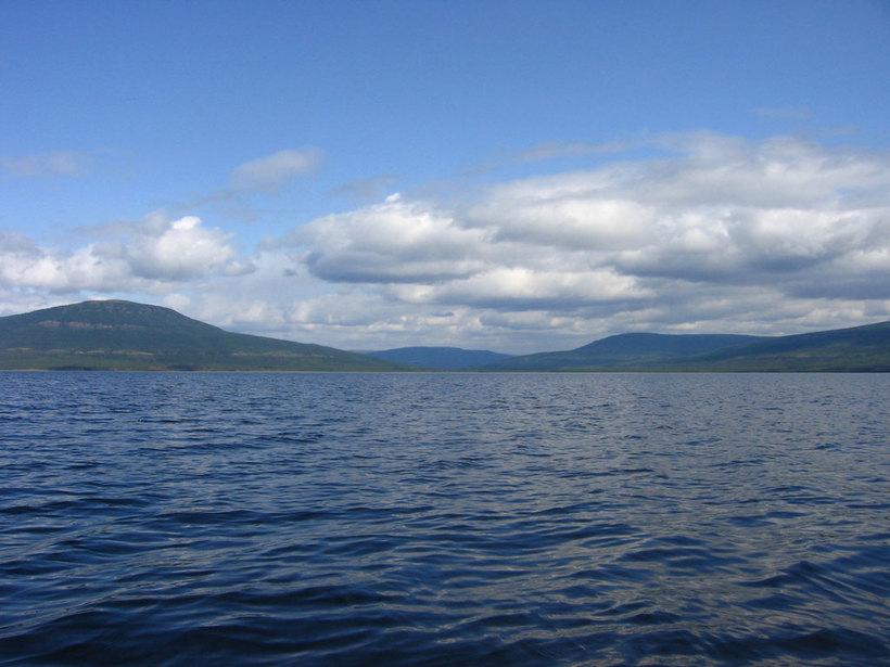 Озеро Виви: где находится географический центр России