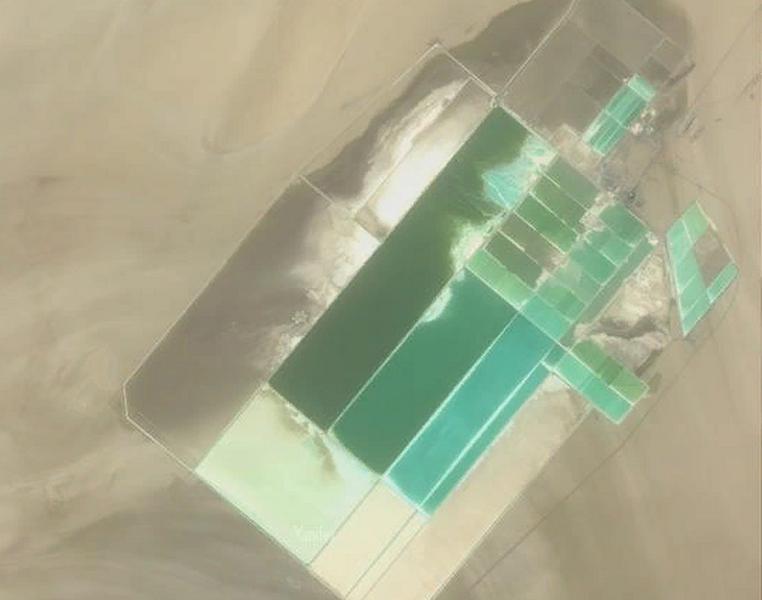Добыча калийной соли на месте котловины озера Лобнор