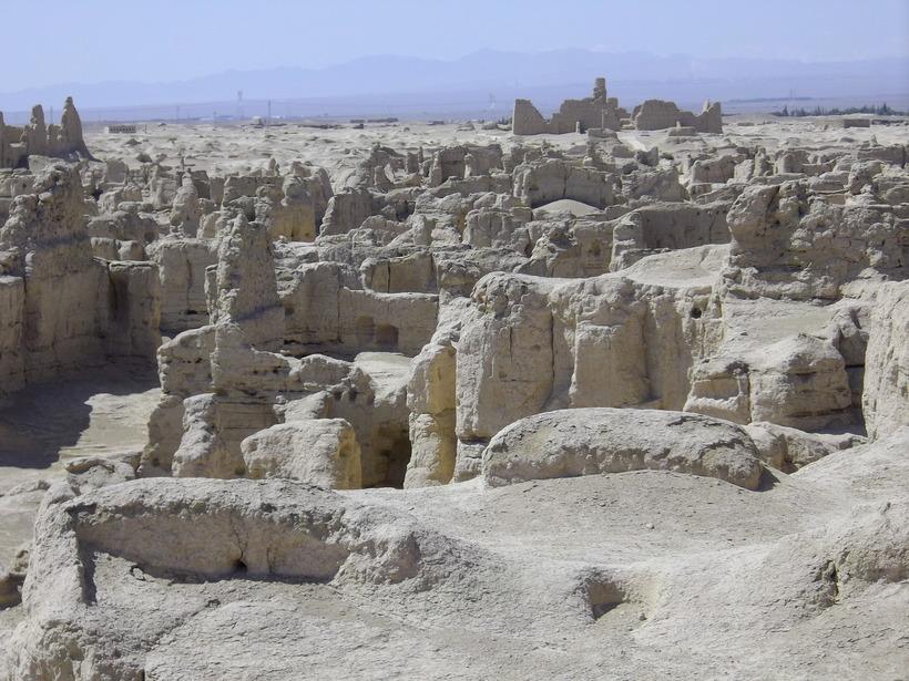 Руины города Лоулань