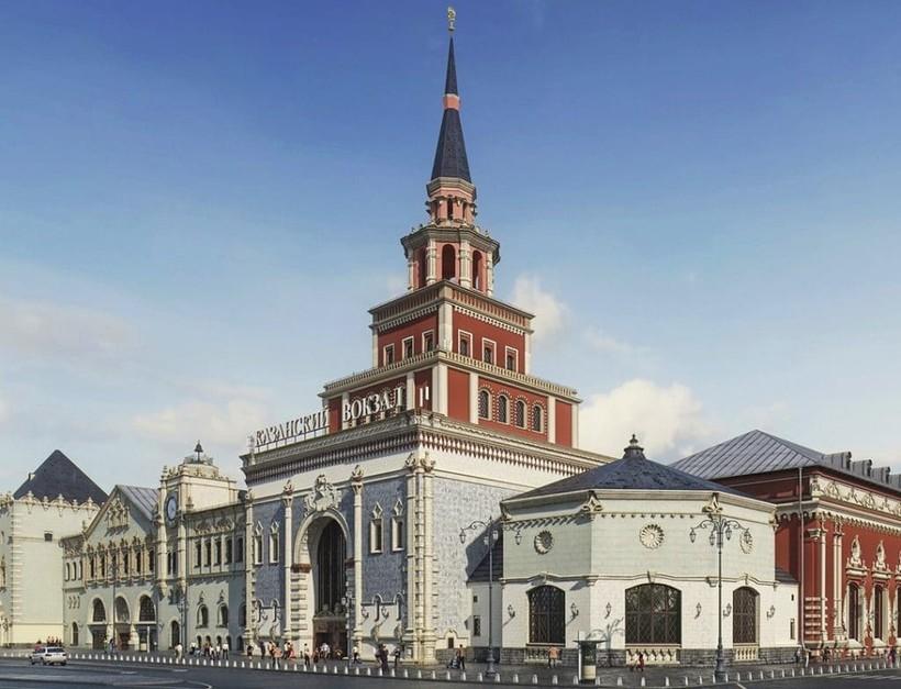 песню картинки казанского вокзала москва жд пути упорно тренировался