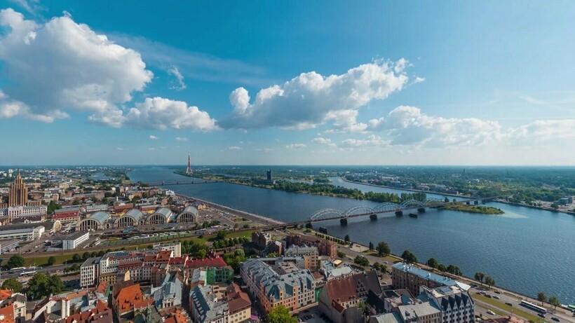 Западная Двина в Риге