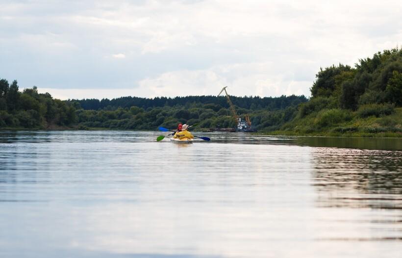 Западная Двина на байдарке