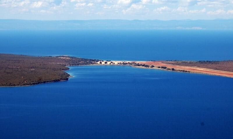 Озеро Мверу вид сверху