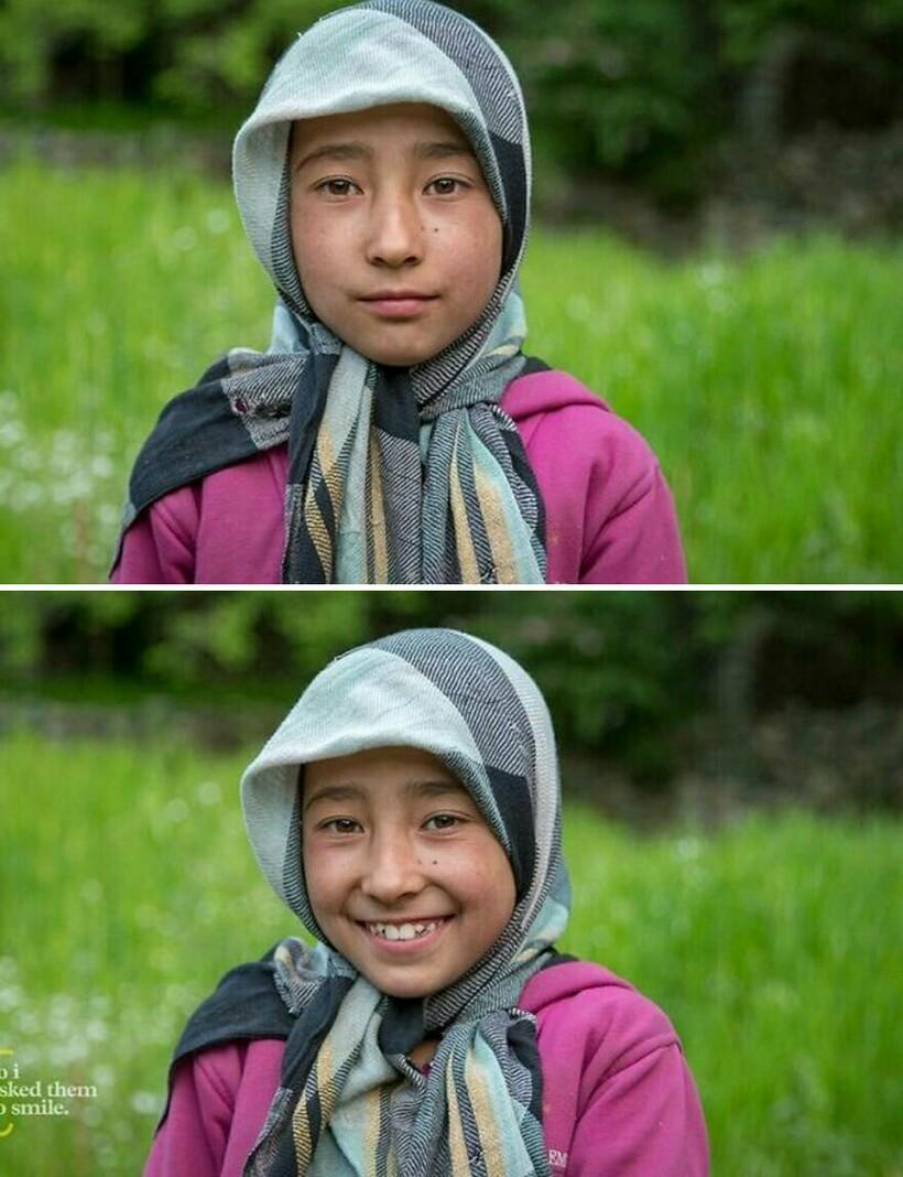 Как улыбка меняет людей: 12 незнакомцев попросили улыбнуться, и их лица засияли