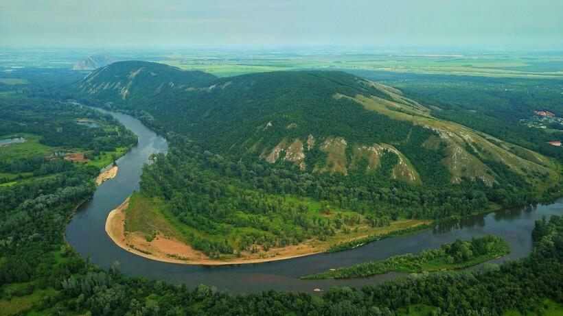 Река Белая у Куштау
